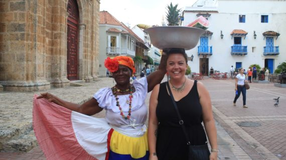 Playing with Street Vendors in Colombia on vacation