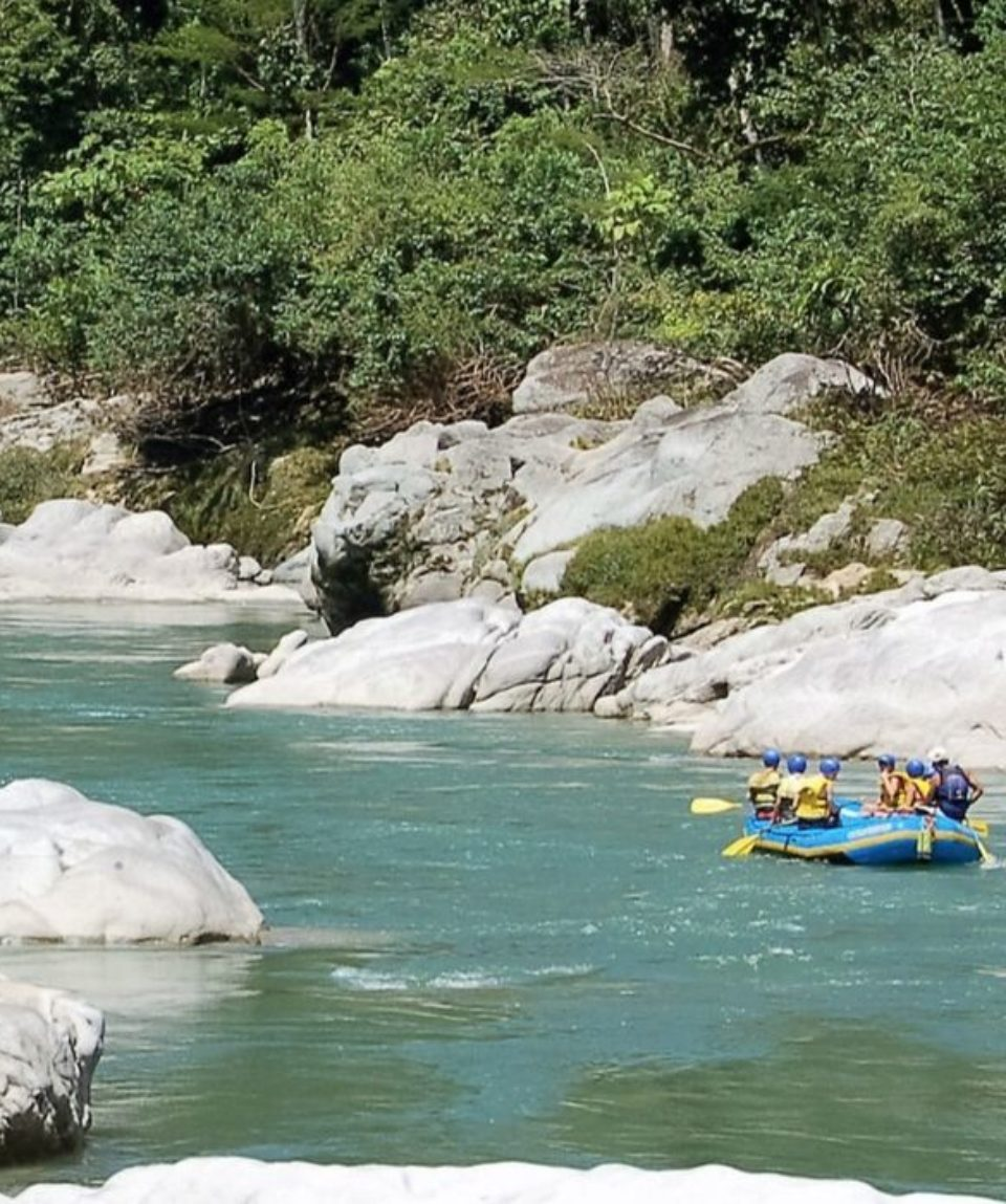 rafting in andes