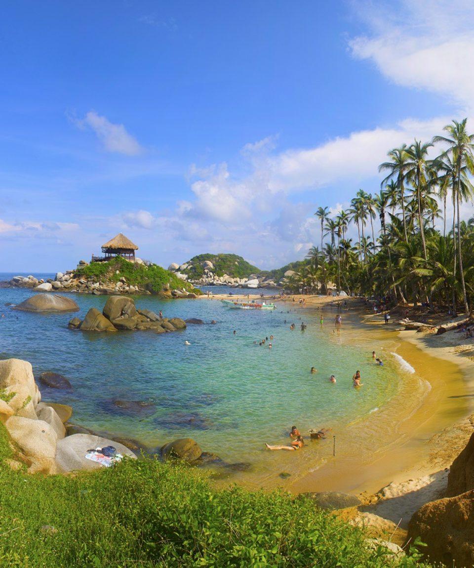 Active Caribbean Tayrona & Cartagena 6 Days