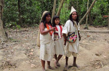 Members of Tairona Kogi Culture