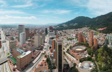 Panorámica de Bogotá desde la Torre Colpatria